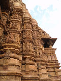 Temple in Khajuraho. Madhya Pradesh Stock Photos