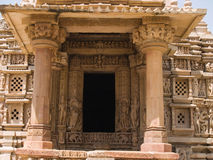 Temple in Khajuraho. Madhya Pradesh Royalty Free Stock Images