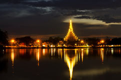 Temple in Khon kaen Stock Image