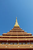 A temple in Khon Kaen, Thailand Royalty Free Stock Photos