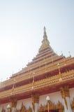 A temple in Khon Kaen Stock Photo