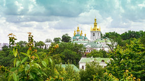 Temple of Kiev-Pechersk Lavra Royalty Free Stock Photo