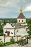 Temple of Kiev-Pechersk Lavra Stock Images