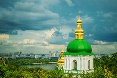 Temple of Kiev-Pechersk Lavra Royalty Free Stock Image