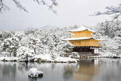 Temple Kinkakuji de zen Photo libre de droits