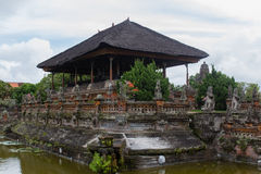 Temple in Klungkung and historic Court Royalty Free Stock Photos