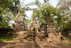 Temple Koh Ker Complex de landau de LPrasat Photographie stock
