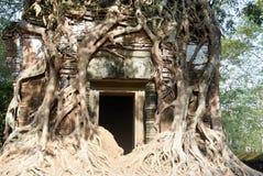 Temple Koh Ker Complex de landau de Prasat Photo stock