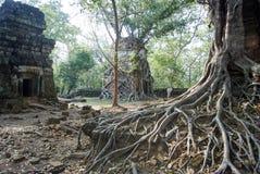 Temple Koh Ker Complex de landau de Prasat Photos libres de droits