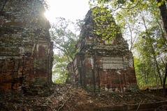 Temple Koh Ker Complex de landau de Prasat Photographie stock libre de droits