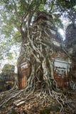 Temple Koh Ker Complex de landau de Prasat Images stock