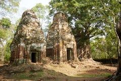 Temple Koh Ker Complex de landau de Prasat Photo libre de droits