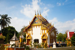 Temple in Koh Phangan Royalty Free Stock Photography