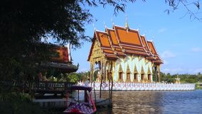 Temple Koh Samui, Thaïlande, Asie de Wat Plai Laem clips vidéos