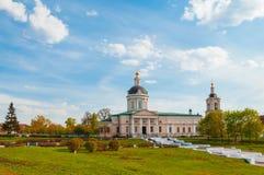 The temple in Kolomna Stock Photo