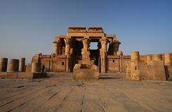 Temple of Kom Ombo in Egypt Stock Photos