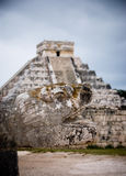 Temple of Kukulcan at Chichen Itza, Mexico Royalty Free Stock Images