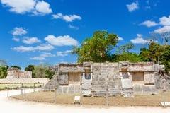 Temple of Kukulkan in Chichen Itza, Yucatan, Mexico Royalty Free Stock Photo