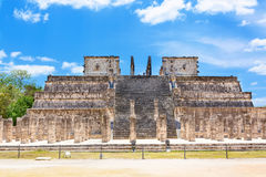 Temple of Kukulkan in Chichen Itza, Yucatan, Mexico Stock Photo