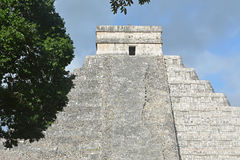 Temple of Kukulkan, pyramid in Chichen Itza, Yucatan, Mexico. Royalty Free Stock Image