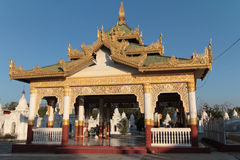 Temple in Kuthodaw pagoda Royalty Free Stock Images