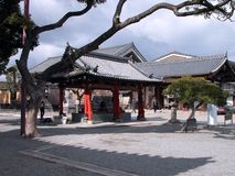 Temple in Kyoto Royalty Free Stock Photography