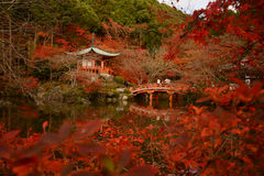Temple in Kyoto Stock Images
