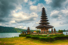 Temple by the lake Royalty Free Stock Photos