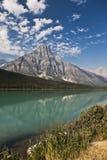 Temple Lake - Jasper National Park Stock Photos