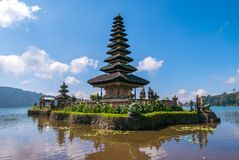 Ulun danu Bratan royalty free stock images