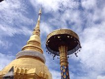 Temple. The temple from lampang ,Thailand stock photos