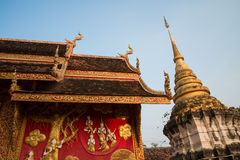 Temple in Lampang, Thailand Stock Photo
