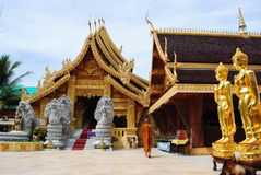 Temple lamphun Stock Image