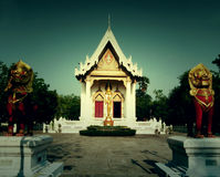 Temple landscape of Buddhism region of Thailand Royalty Free Stock Photo