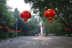 Temple of Lanterns stock photos