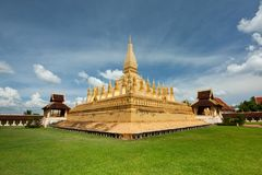 Temple of lao Stock Photography
