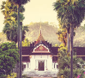 Temple in Laos Royalty Free Stock Photography