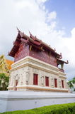 Temple library. At Wat Phra Singh, Chiang Mai, Thailand Stock Photo