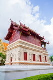 Temple library. At Wat Phra Singh, Chiang Mai, Thailand Royalty Free Stock Images