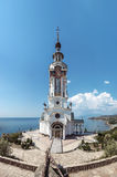 Temple of Lighthouse St. Nicholas of Myra, Ukraine Royalty Free Stock Photo