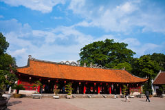 Temple of Literature. The Temple of Literature in Hanoi, Vietnam Royalty Free Stock Photos