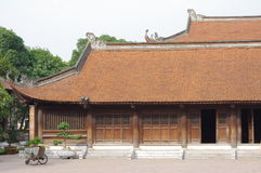 Temple of literature. Temple of Confucius in Hanoi, northern Vietnam Royalty Free Stock Photos