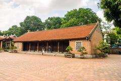 Temple of Literature in Ha Noi. Hanoi, Vietnam - June 21 2016 : Temple of Literature, the first university schools in Ha Noi, Vietnam as Vietnam National Royalty Free Stock Image
