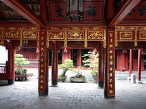 Temple of literature Royalty Free Stock Photos