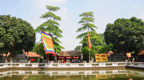 Temple of Literature in Hanoi Royalty Free Stock Photography