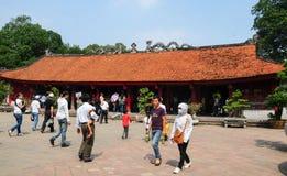 Temple of Literature in Hanoi Stock Image