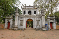 Temple of Literature in Hanoi, Vietnam Royalty Free Stock Photography