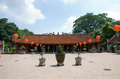 Temple of Literature, Van Mieu, in Hanoi Stock Photography
