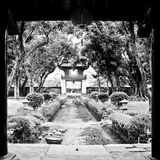 Temple of literature Royalty Free Stock Image