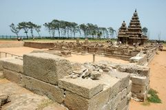Temple long view Royalty Free Stock Photos